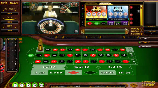 Straight Up Roulette