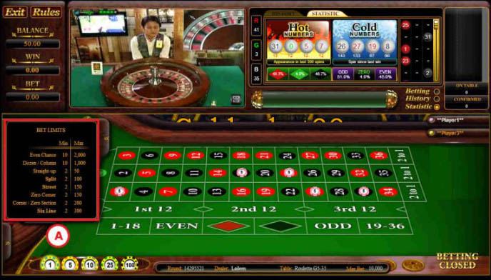 Roulette online android